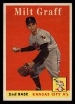 1958 Topps #192  Milt Graff  Front Thumbnail