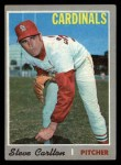 1970 Topps #220  Steve Carlton  Front Thumbnail