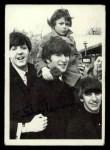 1964 Topps Beatles Black and White #104  John Lennon  Front Thumbnail