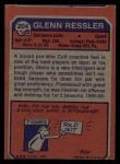 1973 Topps #204  Glenn Ressler  Back Thumbnail