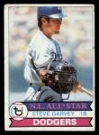 1979 Topps #50  Steve Garvey  Front Thumbnail