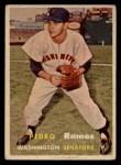 1957 Topps #326  Pedro Ramos  Front Thumbnail