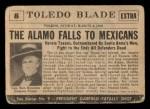 1954 Topps Scoop #8   Alamo Falls Back Thumbnail