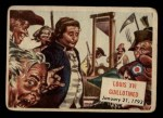 1954 Topps Scoop #143   Louis Xvi Guillotined Front Thumbnail
