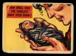 1957 Topps Isolation Booth #84   Smallest Baby Ever Born Front Thumbnail