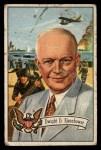 1956 Topps U.S. Presidents #36  Dwight D.Eisenhower  Front Thumbnail