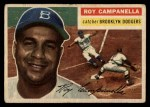 1956 Topps #101 GRY Roy Campanella  Front Thumbnail