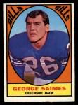 1967 Topps #26  George Saimes  Front Thumbnail