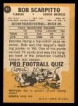 1967 Topps #41  Bob Scarpitto  Back Thumbnail