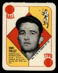 1951 Topps Red Back #7  Howie Pollet  Front Thumbnail