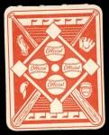 1951 Topps Red Back #14  Wayne Terwilliger  Back Thumbnail