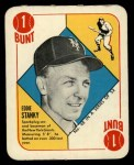1951 Topps Red Back #48  Eddie Stanky  Front Thumbnail