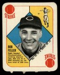 1951 Topps Red Back #22  Bob Feller  Front Thumbnail
