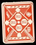 1951 Topps Red Back #1  Yogi Berra  Back Thumbnail