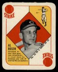 1951 Topps Red Back #35  Al Rosen  Front Thumbnail