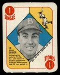 1951 Topps Red Back #38  Duke Snider  Front Thumbnail