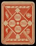 1951 Topps Red Back #16  Preacher Roe  Back Thumbnail