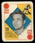 1951 Topps Red Back #3  Ferris Fain  Front Thumbnail
