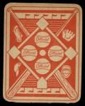 1951 Topps Red Back #43  Mickey McDermott  Back Thumbnail