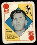 1951 Topps Red Back #46  Billy Goodman  Front Thumbnail