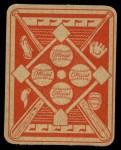 1951 Topps Red Back #19  Dick Kokos  Back Thumbnail