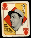 1951 Topps Red Back #19  Dick Kokos  Front Thumbnail