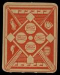 1951 Topps Red Back #38  Duke Snider  Back Thumbnail