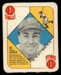 1951 Topps Red Back #38  Duke Snider  Front Thumbnail