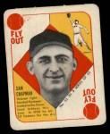1951 Topps Blue Back #52  Sam Chapman  Front Thumbnail