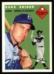 1994 Topps 1954 Archives #32  Duke Snider  Front Thumbnail