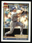 1991 Topps #95  Paul Molitor  Front Thumbnail
