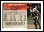 1994 Topps #358  Paul Sorrento  Back Thumbnail