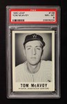 1960 Leaf #108  Tom McAvoy  Front Thumbnail