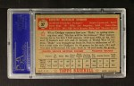 1952 Topps #37 RED Duke Snider  Back Thumbnail