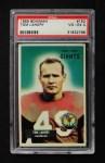 1955 Bowman #152  Tom Landry  Front Thumbnail