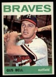 1964 Topps #534  Gus Bell  Front Thumbnail