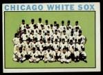 1964 Topps #496   White Sox Team Front Thumbnail
