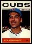 1964 Topps #252  Ken Aspromonte  Front Thumbnail