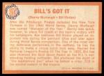 1964 Topps #268   -  Bill Virdon / Danny Murtaugh Bill's Got It Back Thumbnail