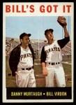 1964 Topps #268   -  Bill Virdon / Danny Murtaugh Bill's Got It Front Thumbnail