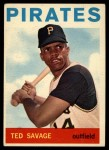 1964 Topps #62  Ted Savage  Front Thumbnail