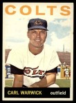 1964 Topps #179  Carl Warwick  Front Thumbnail
