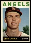 1964 Topps #32  Dean Chance  Front Thumbnail