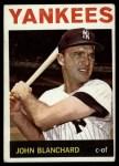 1964 Topps #118  John Blanchard  Front Thumbnail