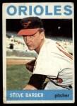 1964 Topps #450  Steve Barber  Front Thumbnail
