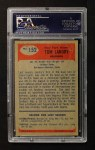 1955 Bowman #152  Tom Landry  Back Thumbnail