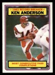 1983 Topps #1   -  Ken Anderson Record Breaker Front Thumbnail