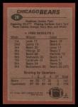 1983 Topps #28   Bears Leaders Back Thumbnail