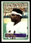 1983 Topps #36  Walter Payton  Front Thumbnail