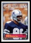 1983 Topps #51  Drew Pearson  Front Thumbnail